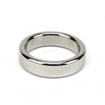 Bound to Please Metal Cock and Ball Ring - 50mm Cock Rings platinum desires uk